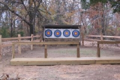Archery Range Front - After